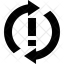 Synchronize Problem Reload Icon