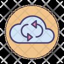 Synchronizing Computing Storage Icon