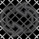 Syncing Arrows Refresh Syc Arrow Icon