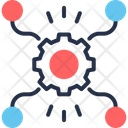 Synthesis Of Ideas Combination Fusion Icon
