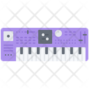 Synthesizer Music Instrument Icon