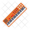 Synthesizer Keyboard Electric Icon