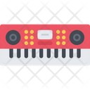 Synthesizer Piano Sound Icon