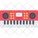 Synthesizer Music Equipment Icon