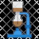 Syphon Coffee Maker Espresso Icon
