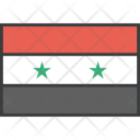 Syria Syrian Asian Icon