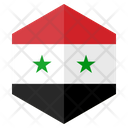 Syria Flag Country Icon