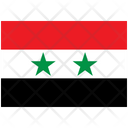 Flag Country Syria Icon