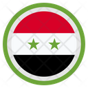 Syria Country National Icon