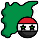 Syria Flag Syria Nation Icon