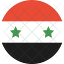 Syria Flag World Icon