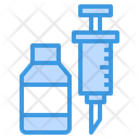 Syring Vaccine Injection Icon
