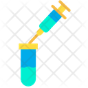 Test Tube Research Tube Genetic Research Icon