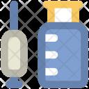 Syringe Injection Vaccination Icon
