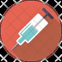 Syringe Needle Injection Icon
