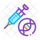 Syringe Injection Vaccine Icon
