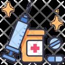 Syringe Health Medical Icon