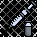 Syringe Injection Medical Icon