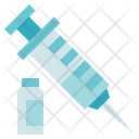 Allergy Medical Syringe Icon