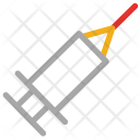 Syringe Vaccine Injection Icon