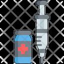 Syringe Insulin Health Care Icon