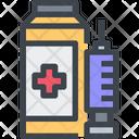 Syringe Bottle Icon
