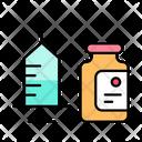 Syringe Disposable Vaccine Health Icon