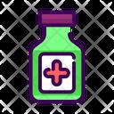 Syrup Bottle Medicine Icon