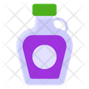 Syrup Medicine Bottle Medical Condiment Icon