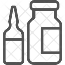Syrup Medicine Bottle Icon