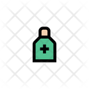 Syrup Bottle Medical Icon