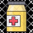 Syrup Bottle Pharmacy Icon