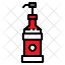 Syrup Sweet Bottle Icon