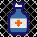 Syrup Bottle Pills Bottle Icon