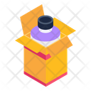 Syrup Bottle Syrup Box Syrup Packaging Icon