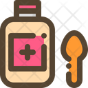 Syrup Medicine Medical Icon