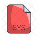 Sys System File Icon