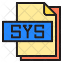 Sys File Format Type Icon