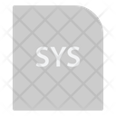 Sys Extension File Icon