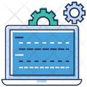 Website Setting System Configuration Network Configuration Icon