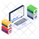 System Servers System Data Connected System Icon