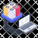 System Servers System Data Servers Data Display Icon