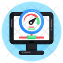 System Efficiency System Speed Speed Testing Icon