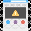System Error Web Icon