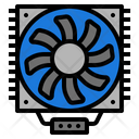 System Cooling Technology Icon