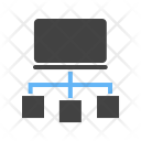 System Connection Flow Icon