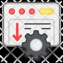 System Installation Web Setting System Setting Icon