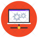 Web Settings System Management Computer Network Icon