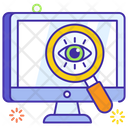 Vision Monitoring Searching Icon