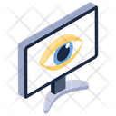 System Monitoring System Observation Cyber Monitoring Icon